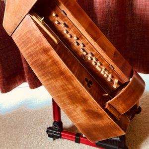 hurdy gurdy stand